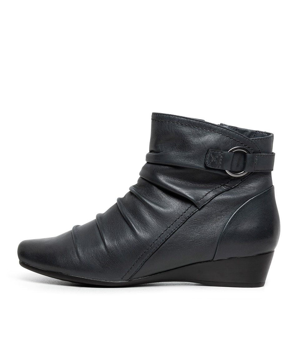 Buy Supersoft Reuben Su Grey Ankle Boots online with free shipping