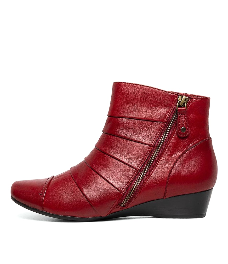 Buy Supersoft Romsey Su Red E Ankle Boots online with free shipping