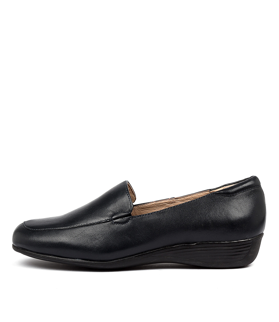 Buy Supersoft Pearley Su Navy Flats online with free shipping