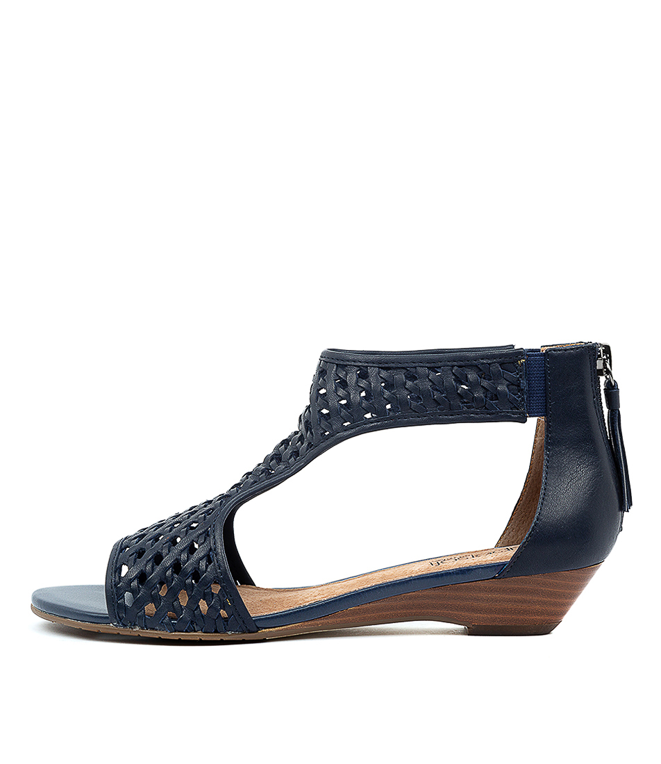 Buy Supersoft Burns Su Navy E Heeled Sandals online with free shipping