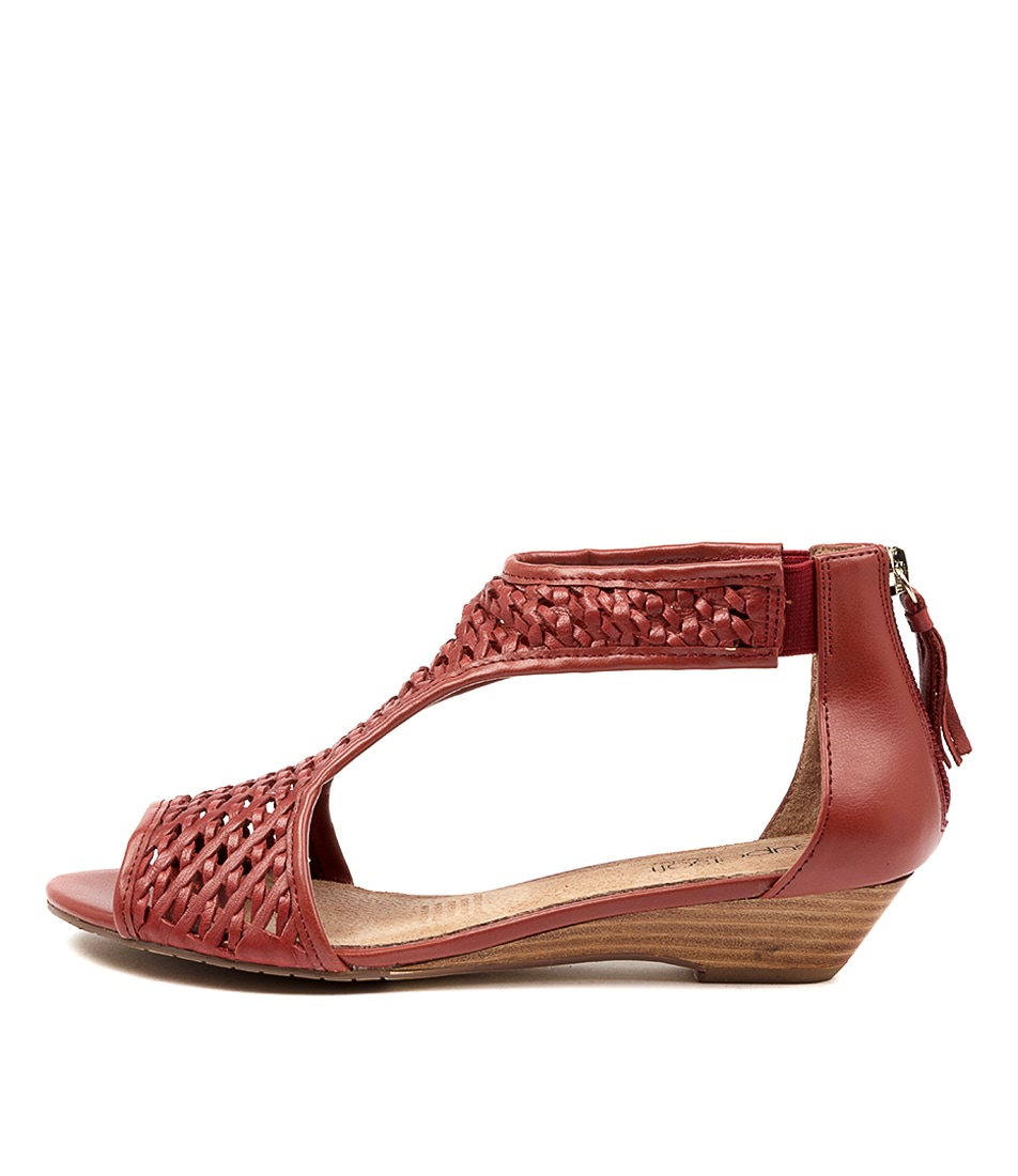 Buy Supersoft Burns Su Redwood Heeled Sandals online with free shipping