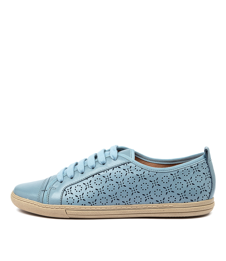 Buy Supersoft Anjelah Su Light Denim E Flats online with free shipping