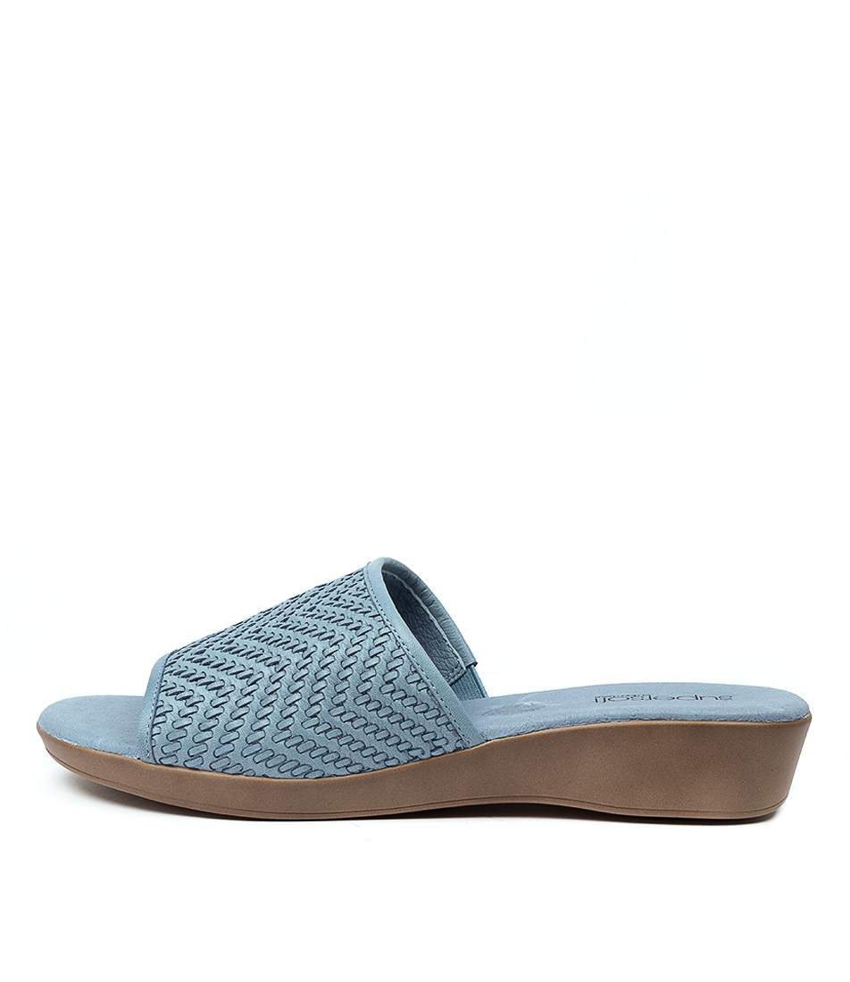 Buy Supersoft Adamson Su Light Denim E Heeled Sandals online with free shipping