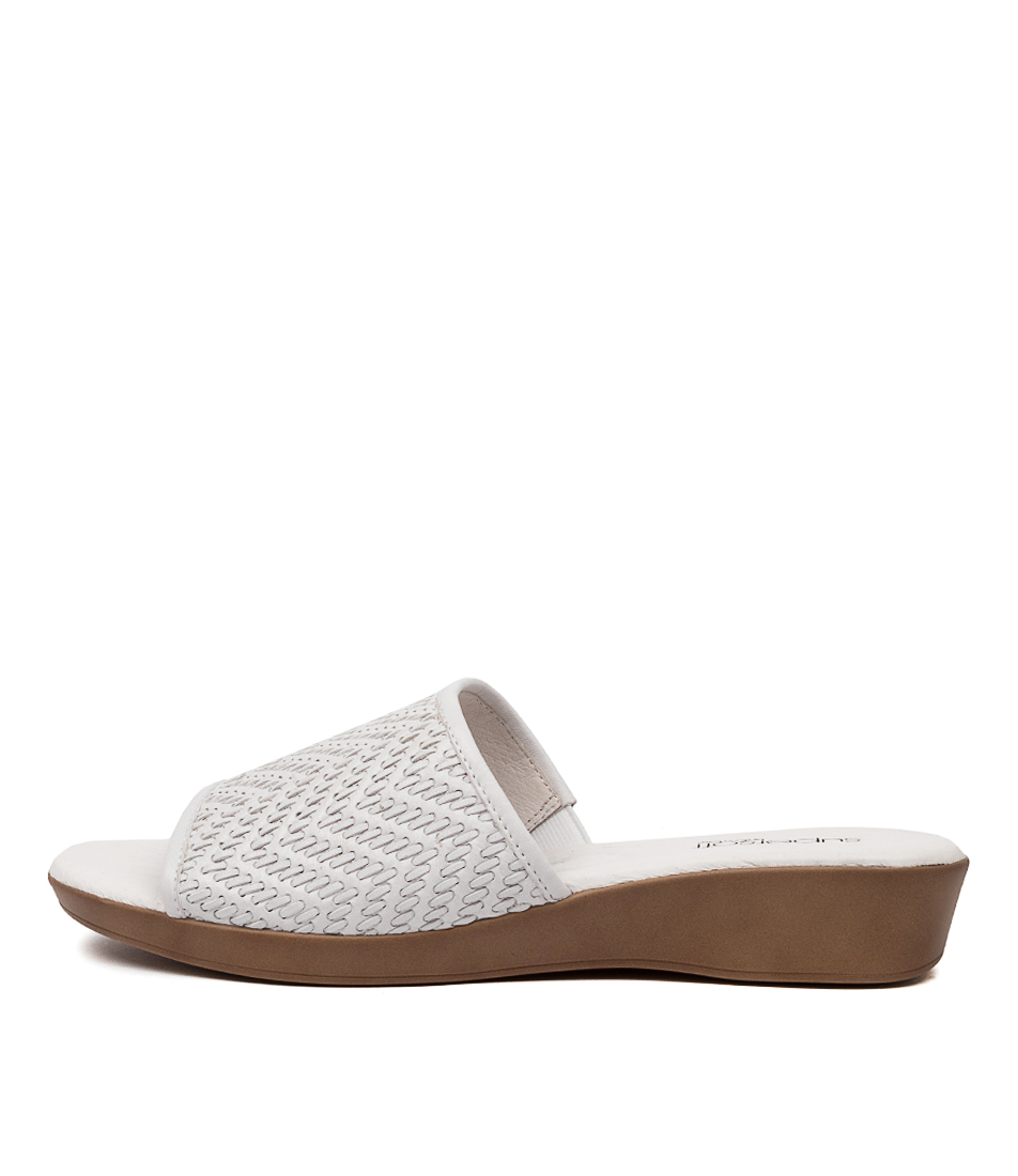 Buy Supersoft Adamson Su White E Heeled Sandals online with free shipping