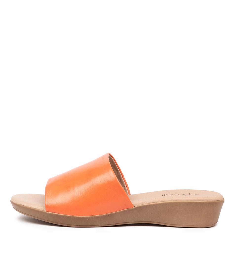 Buy Supersoft Albury2 Su Orange Sandals online with free shipping