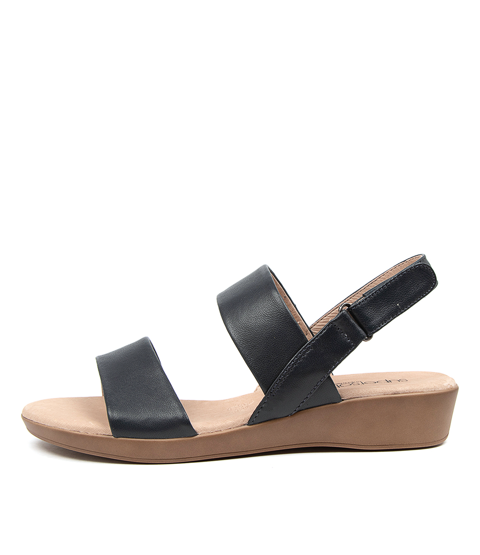 Buy Supersoft Anastasi2 Su Navy Flat Sandals online with free shipping