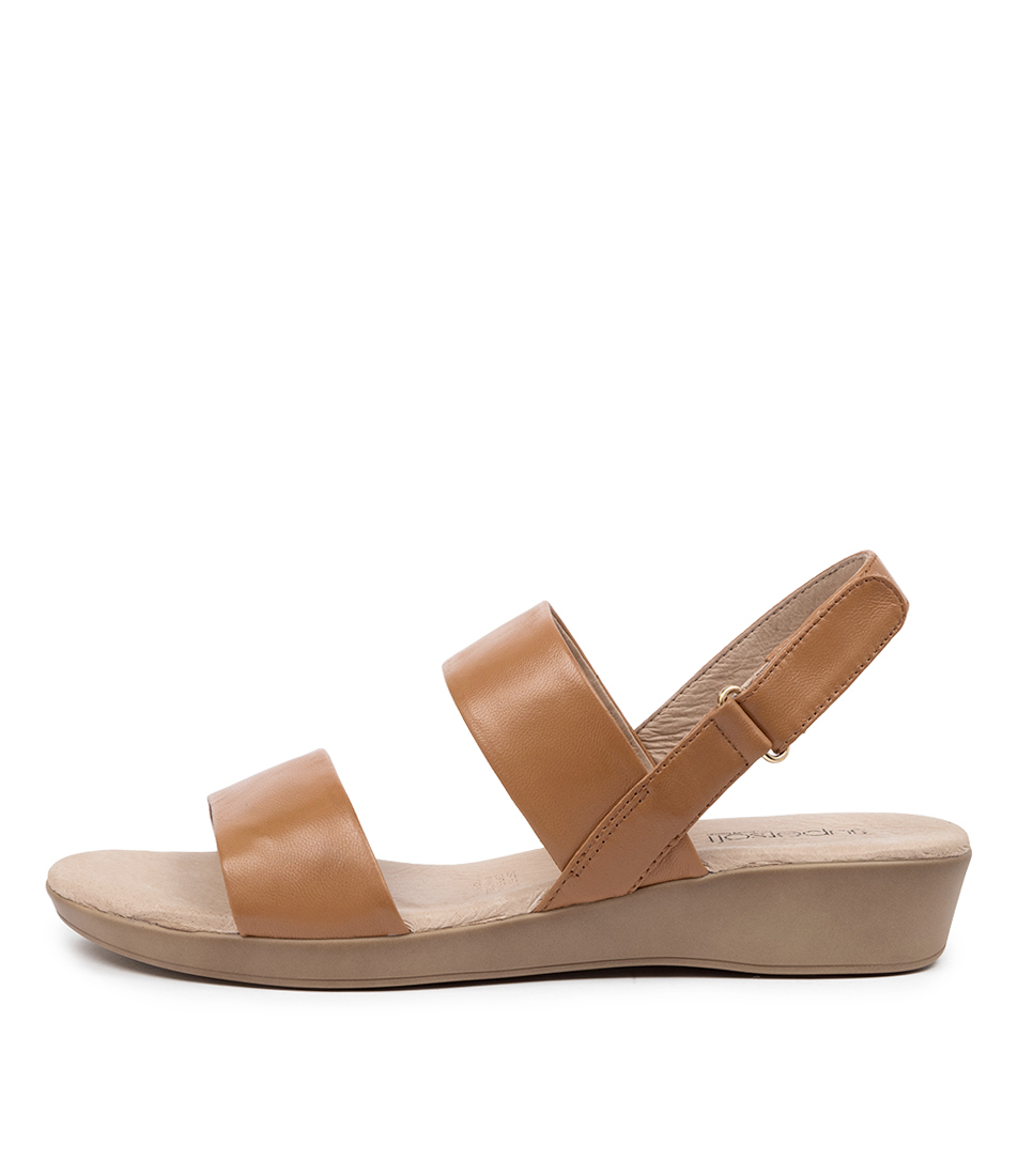 Buy Supersoft Anastasi2 Su Tan Flat Sandals online with free shipping