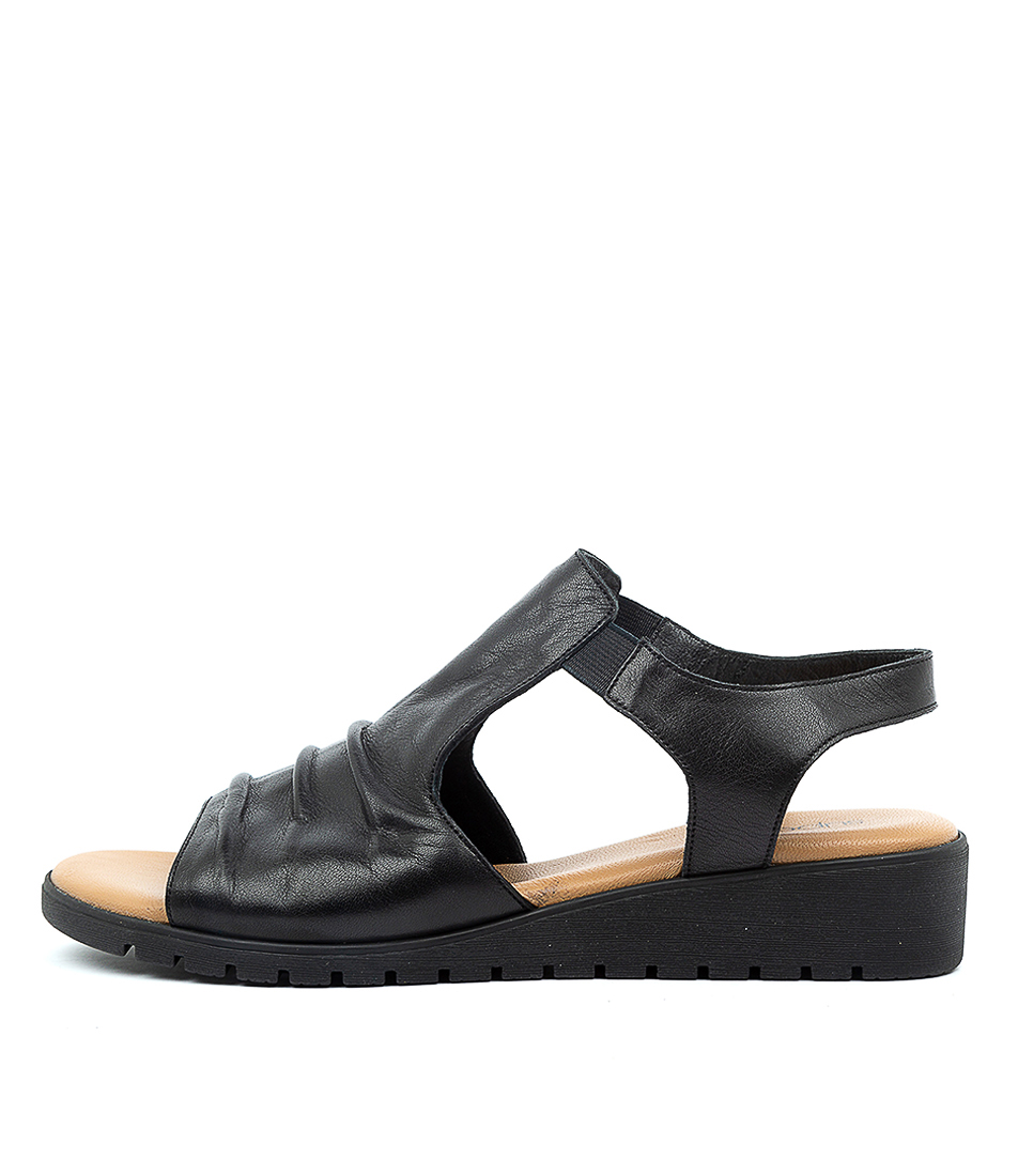 Buy Supersoft Harlan Su Black E Sandals online with free shipping