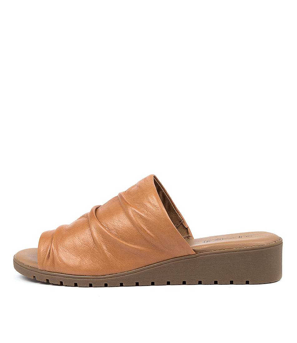 Buy Supersoft Heming Su Tan E Flat Sandals online with free shipping