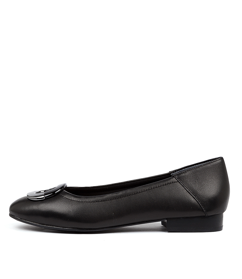 Buy Supersoft Abree Su Black Flats online with free shipping