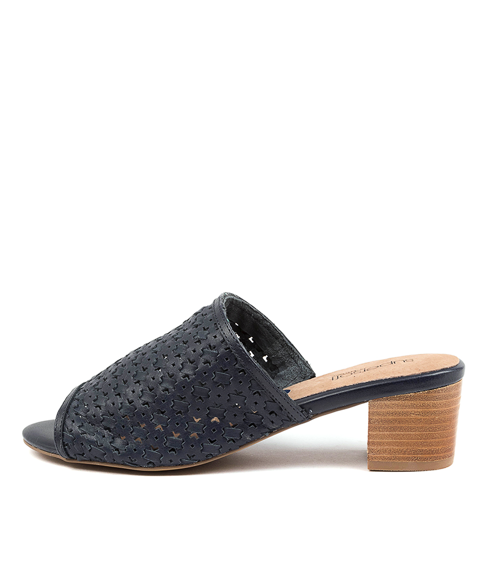 Buy Supersoft Campania Su Navy E Heeled Sandals online with free shipping