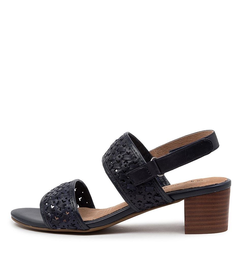 Buy Supersoft Castello Su Navy E Heeled Sandals online with free shipping