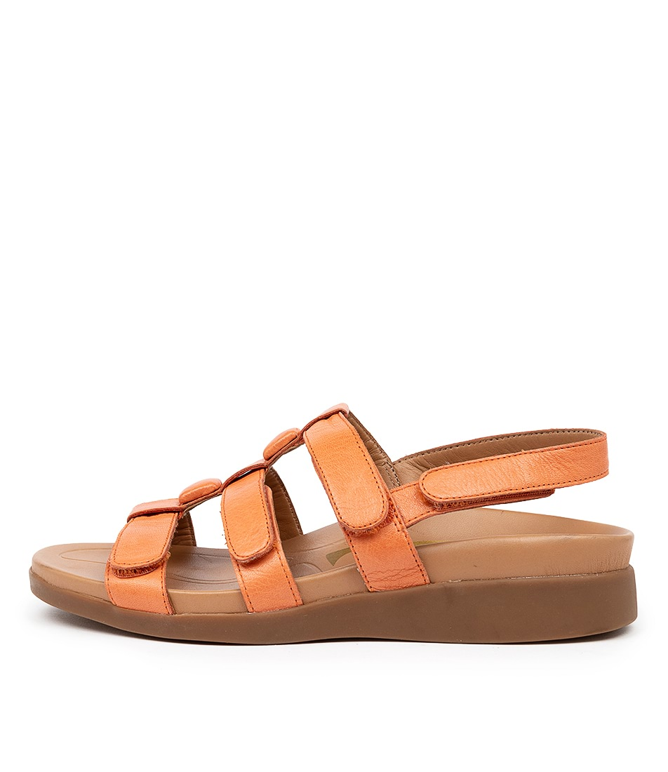 Buy Supersoft Timor Su Orange E Sandals online with free shipping