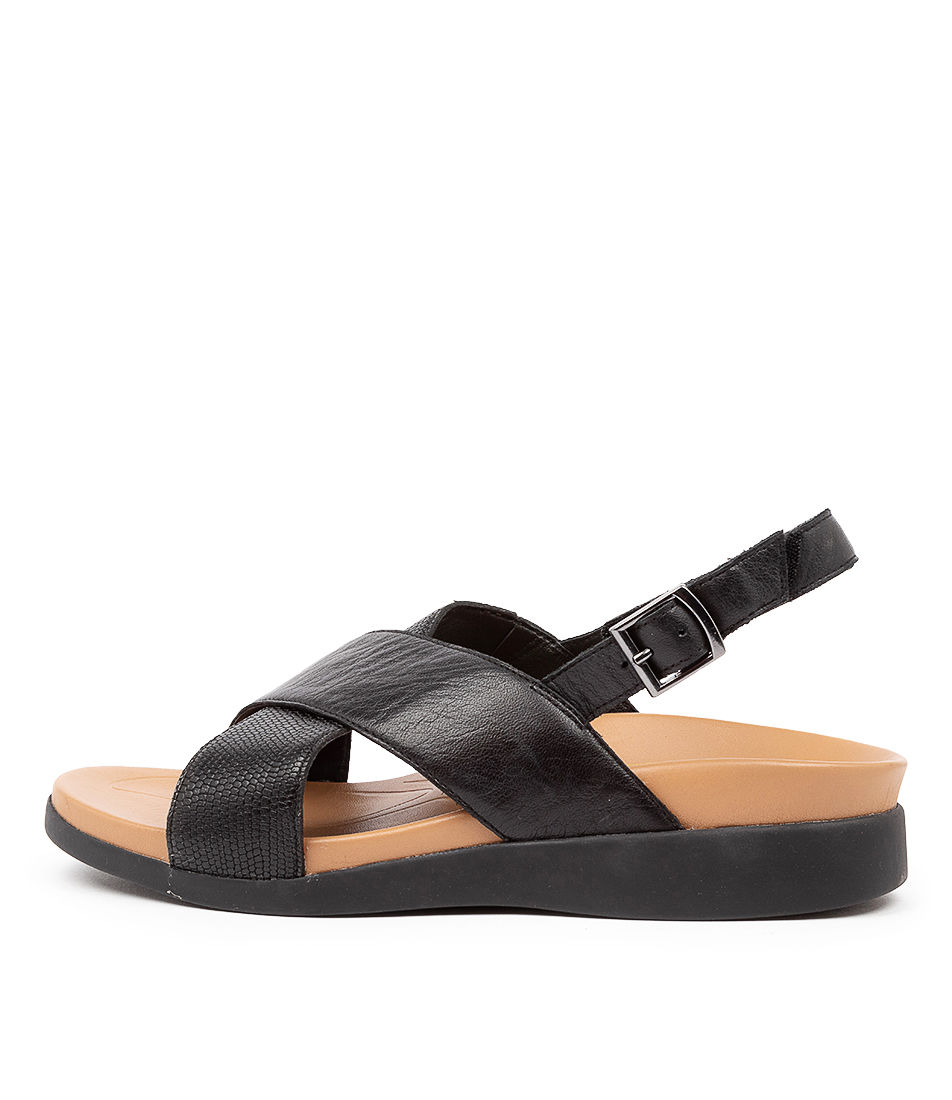 Buy Supersoft Tornell Su Black E Sandals online with free shipping