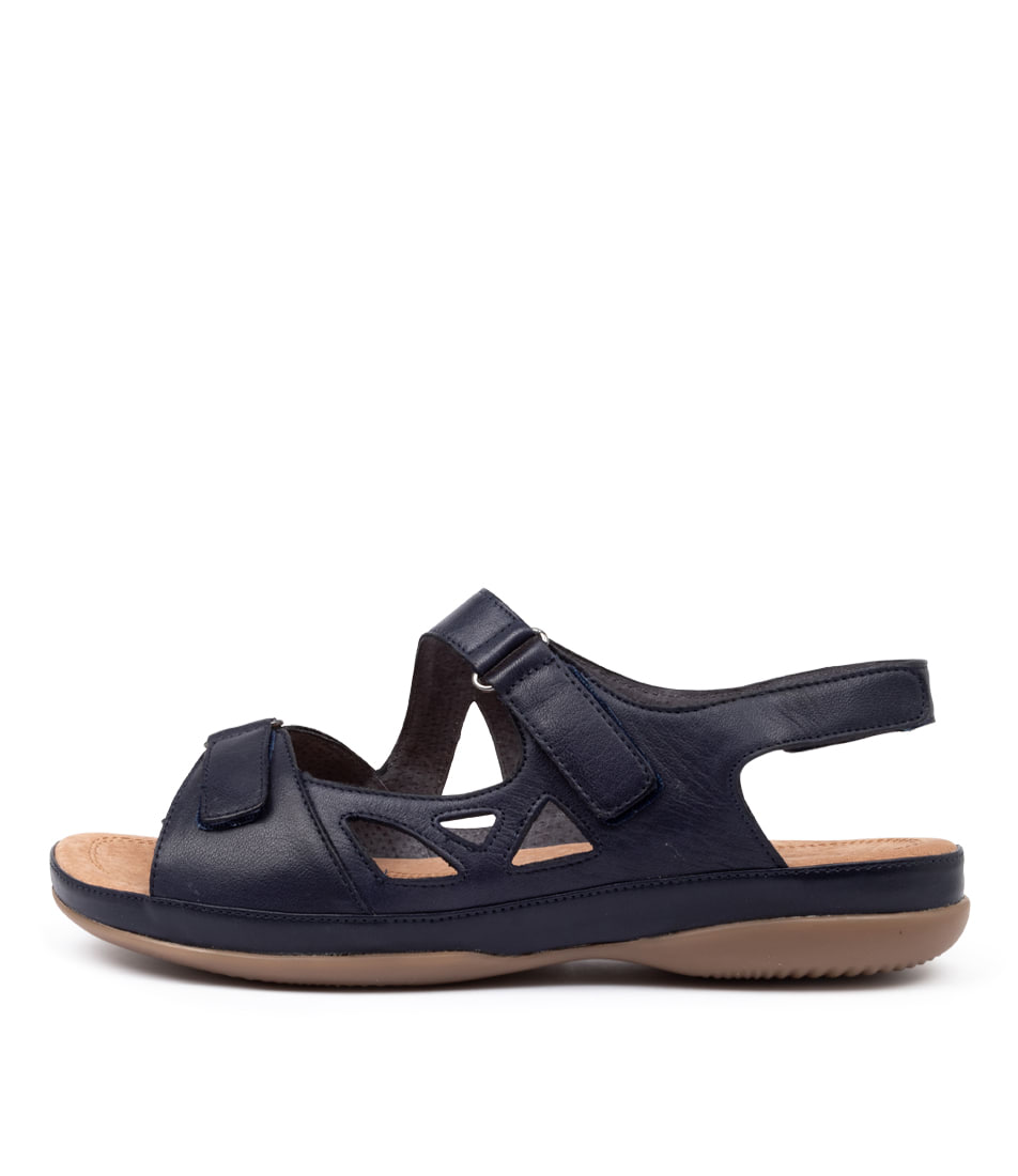 Buy Supersoft Stumble Su Navy E Sandals online with free shipping