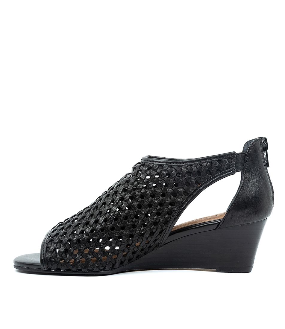 Buy Supersoft Kluger Su Black E Heeled Sandals online with free shipping