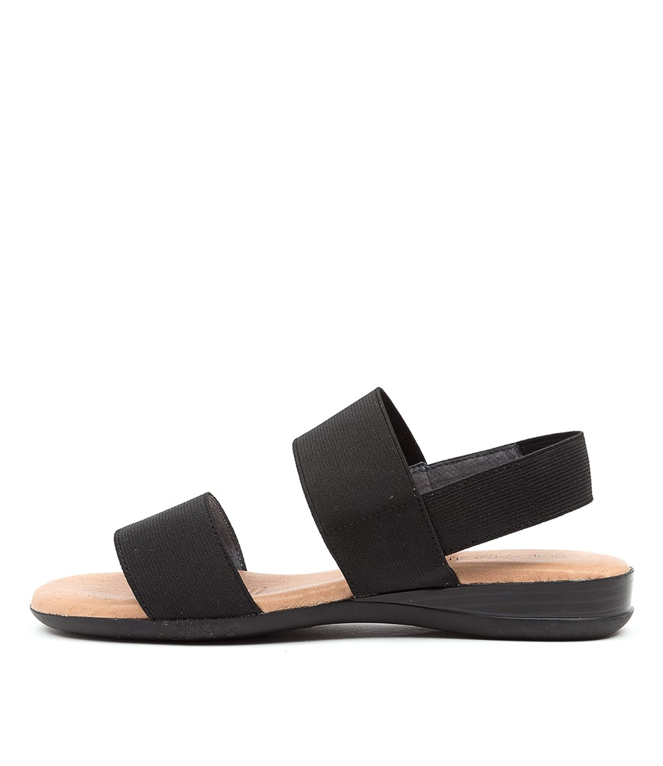 Buy Supersoft Jensen Su Black Sandals online with free shipping