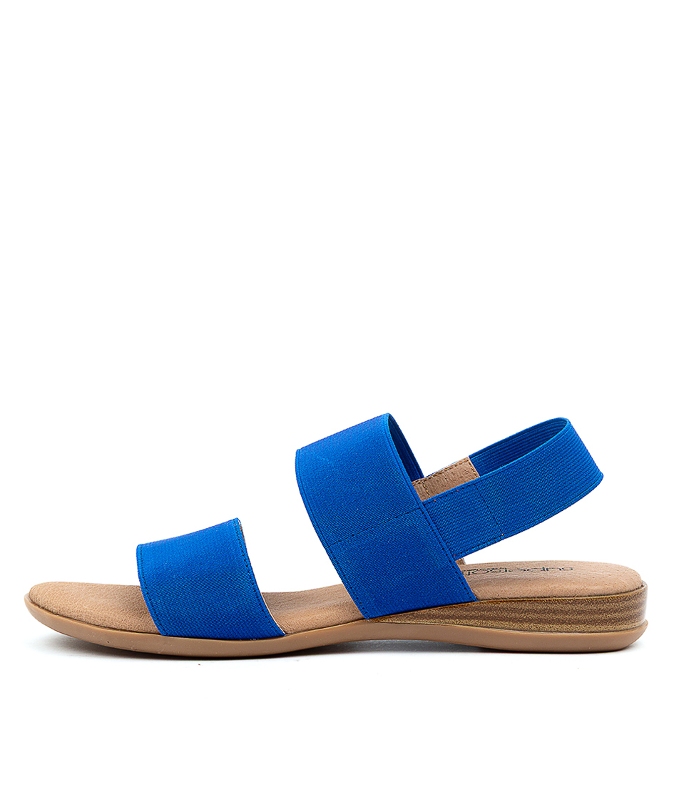 Buy Supersoft Jensen Su Blue Sandals online with free shipping