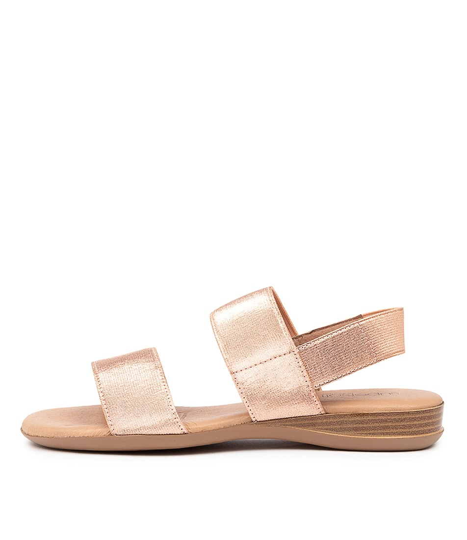 Buy Supersoft Jensen Su Rose Gold Flat Sandals online with free shipping
