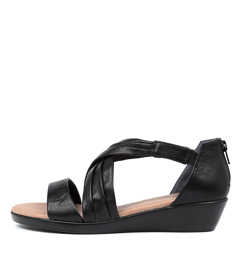 Buy Supersoft Varada Su Black E Sandals online with free shipping