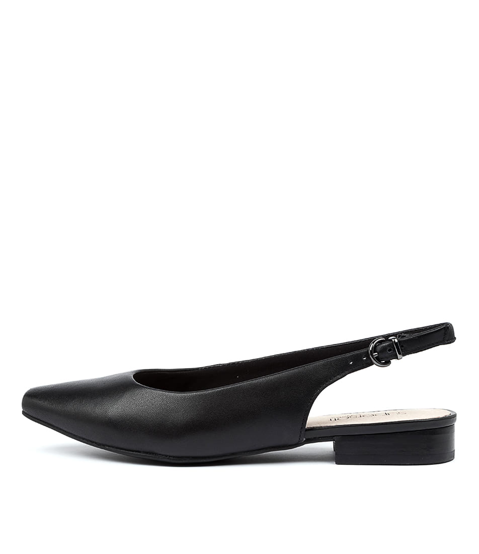 Buy Supersoft Lorrell Su Black Flats online with free shipping