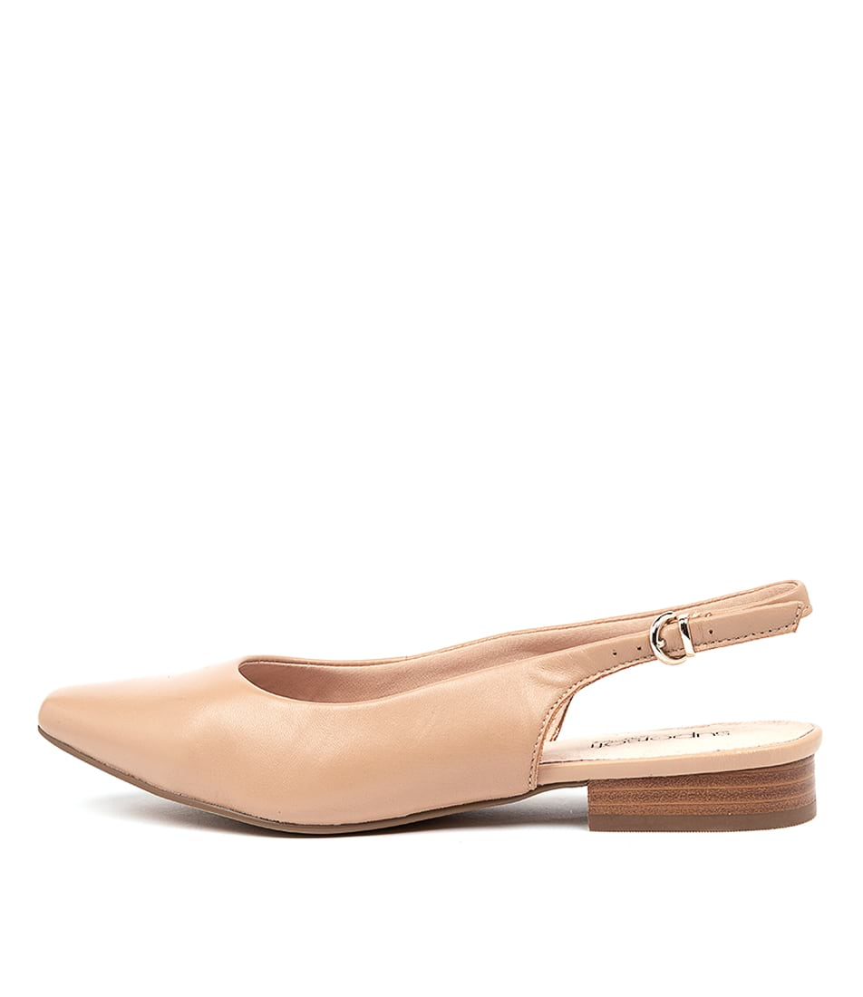 Buy Supersoft Lorrell Su Nude Flats online with free shipping