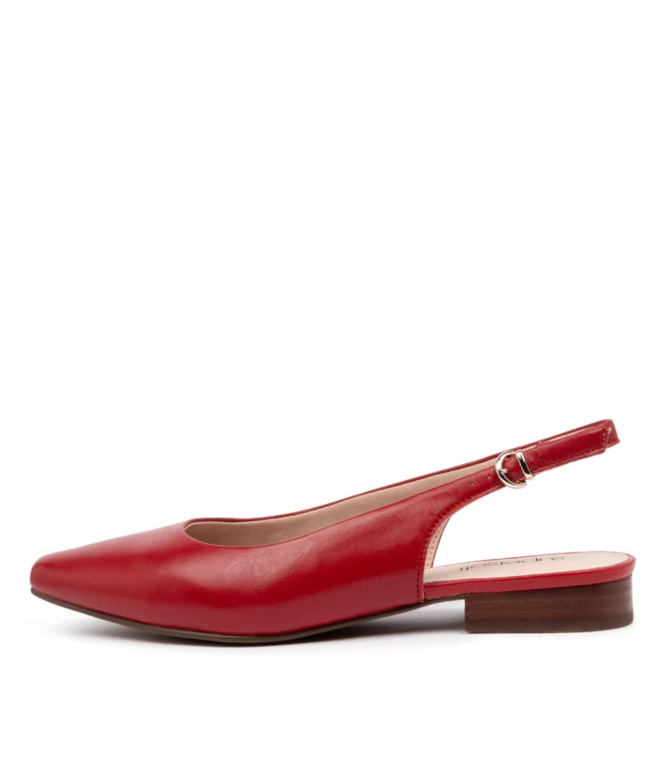 Buy Supersoft Lorrell Su Red Flats online with free shipping