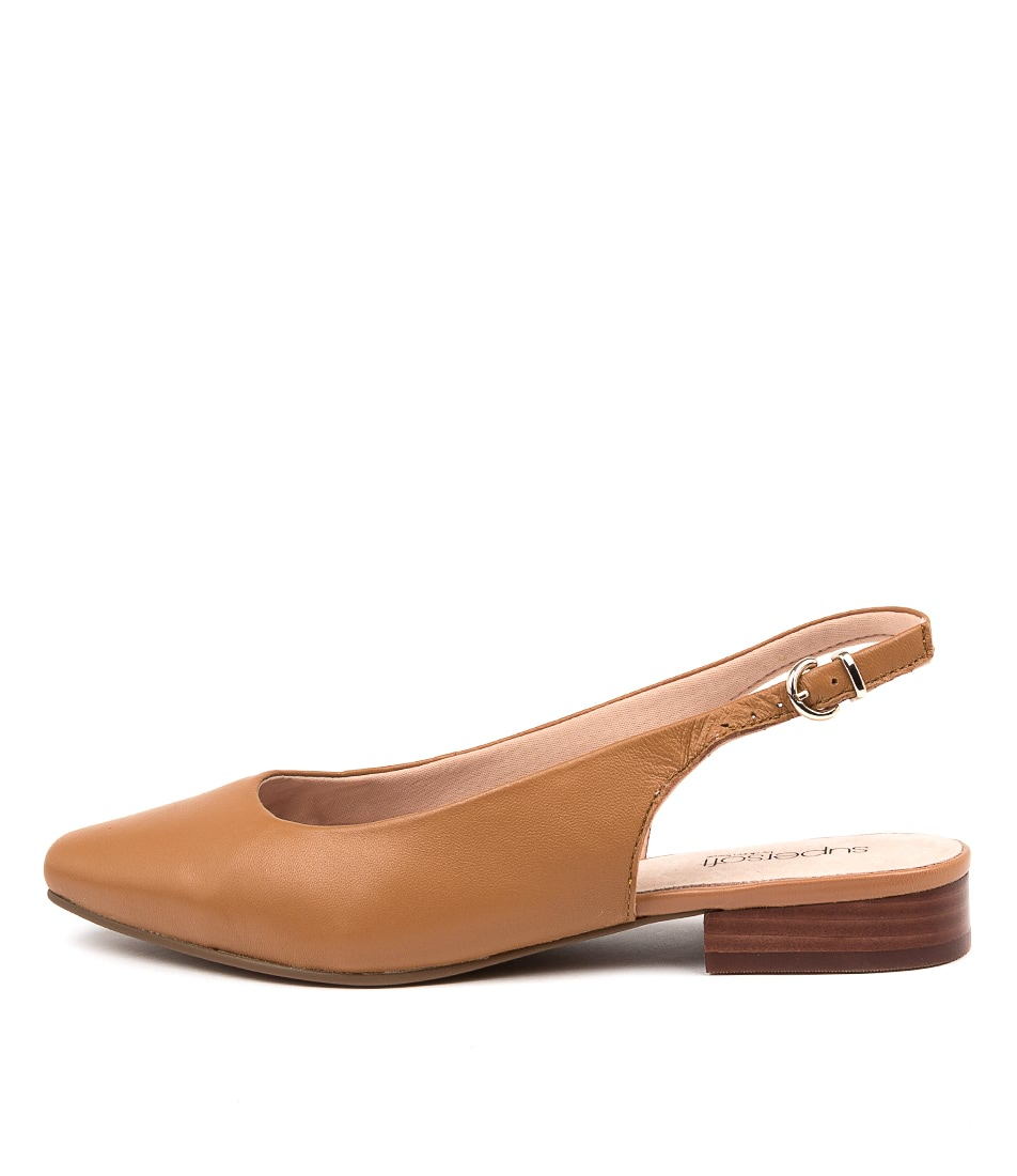 Buy Supersoft Lorrell Su Tan Flats online with free shipping