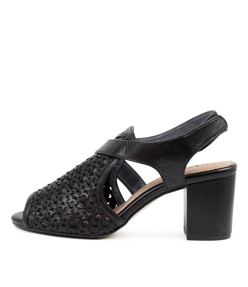 Buy Supersoft Nimble Su Black E Heeled Sandals online with free shipping