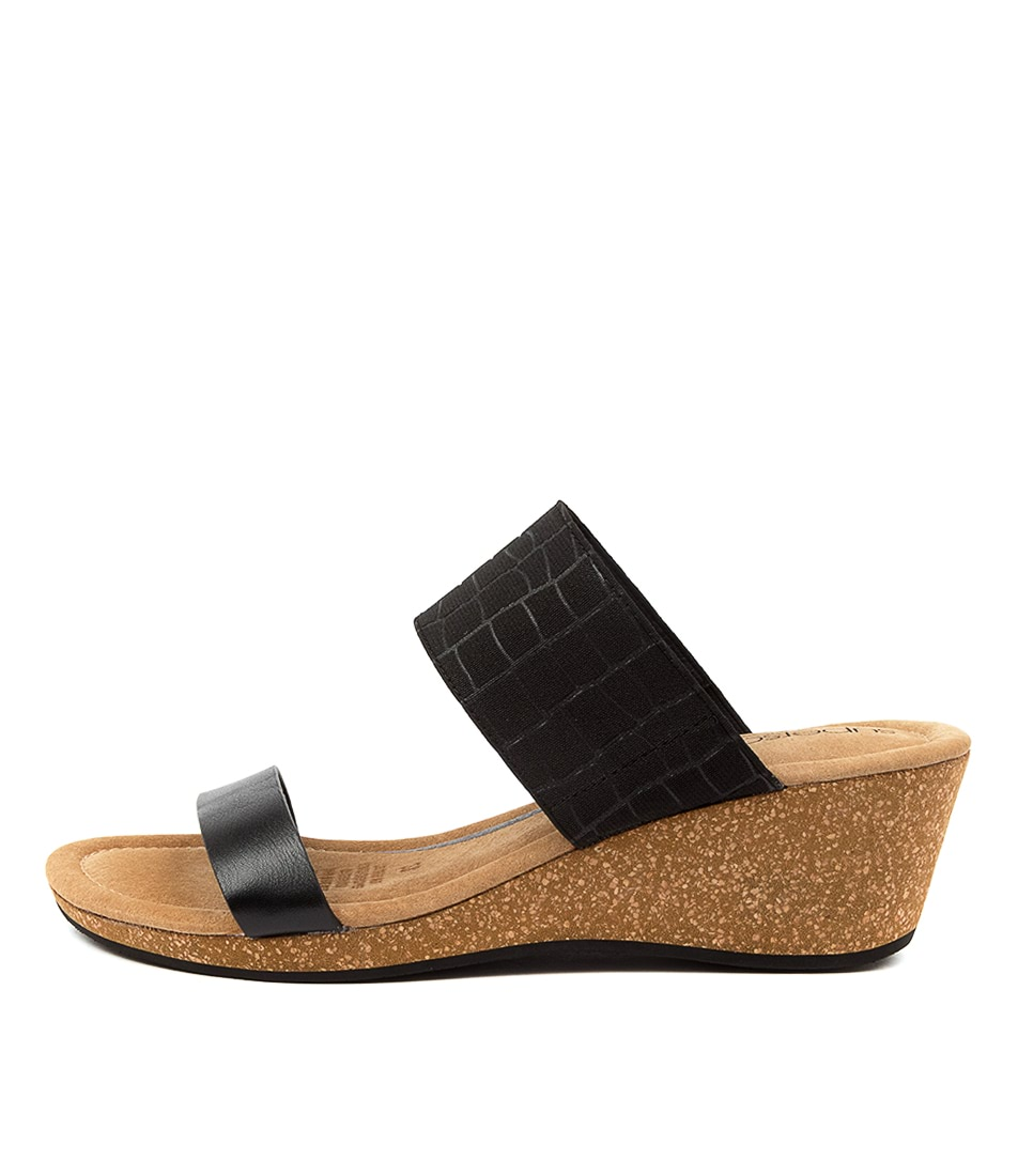 Buy Supersoft Brasillia Su Black Heeled Sandals online with free shipping
