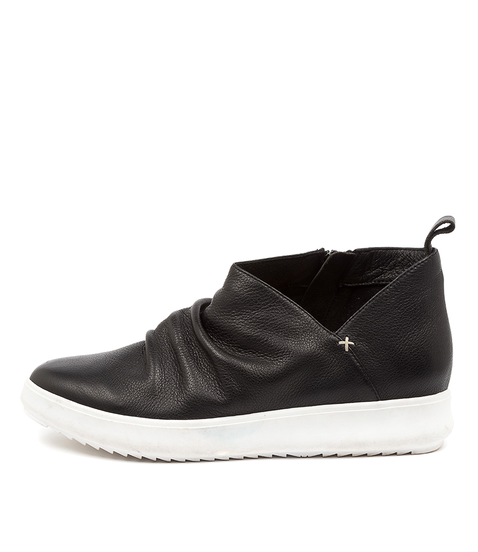 Buy Supersoft Zabina Su Black White Sole Ankle Boots online with free shipping