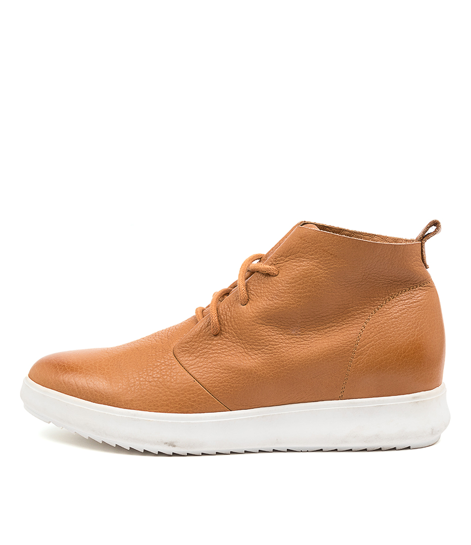 Buy Supersoft Zoey Su Tan White Sole Ankle Boots online with free shipping