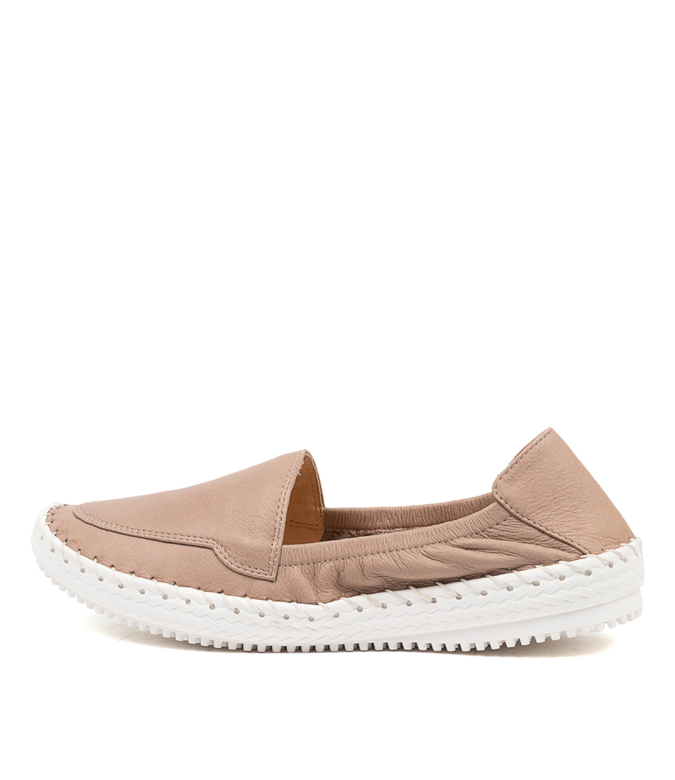 Buy Supersoft Wallflower Su Ash White Sole Flats online with free shipping