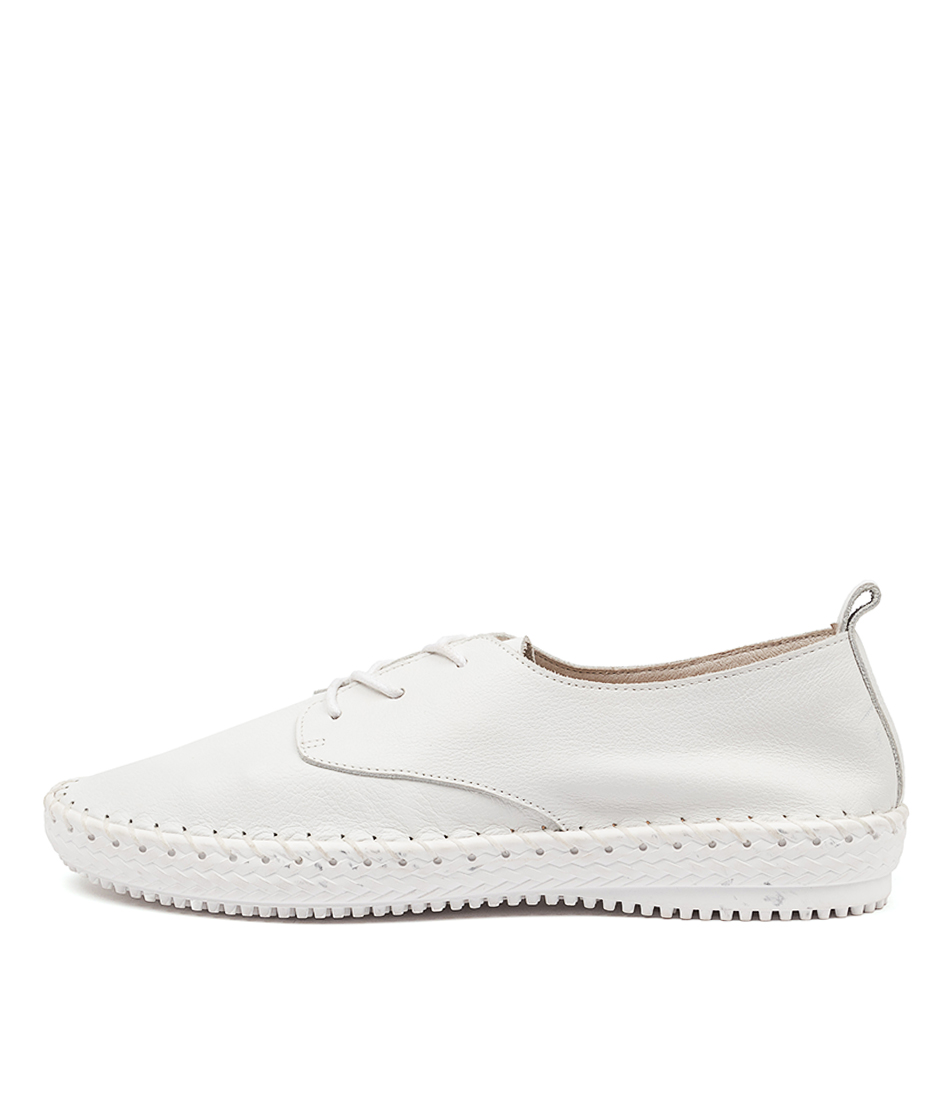 Buy Supersoft Waterlilie Su White White Sole Flats online with free shipping