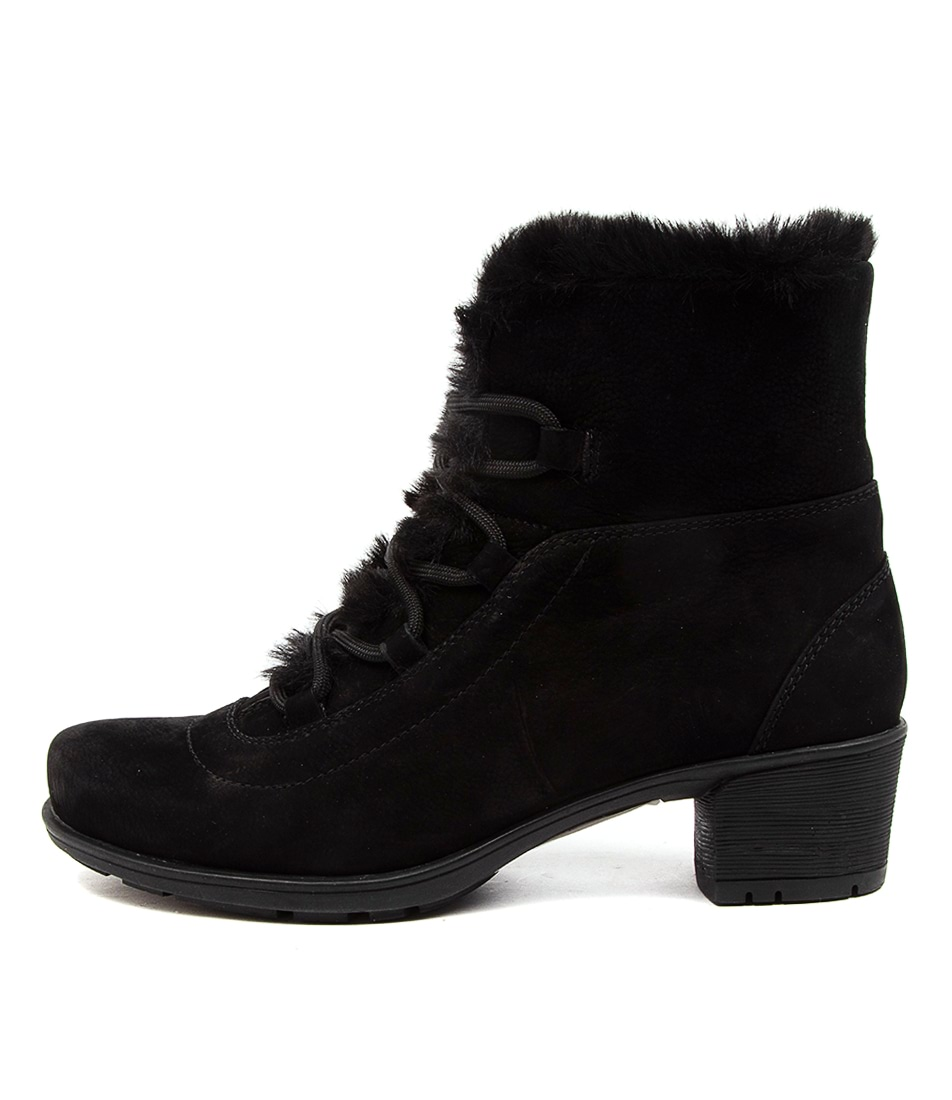 Buy Supersoft Izzy Su Black Ankle Boots online with free shipping