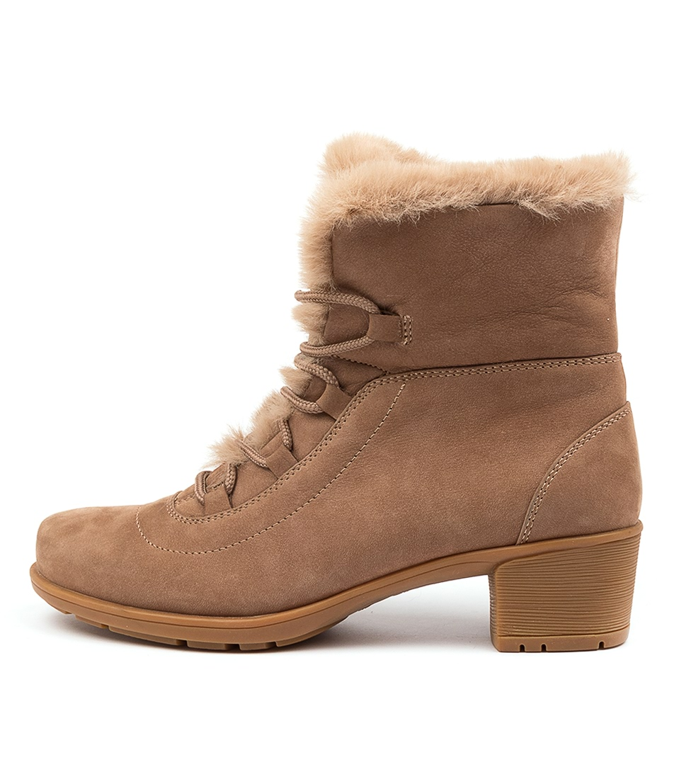 Buy Supersoft Izzy Su Latte Latte Ankle Boots online with free shipping