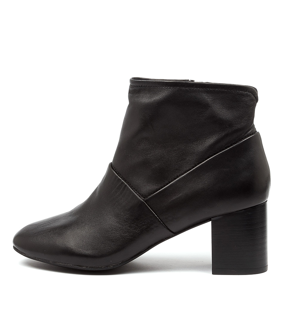 Buy Supersoft Blazing Su Black Heel Dress Ankle Boots online with free shipping