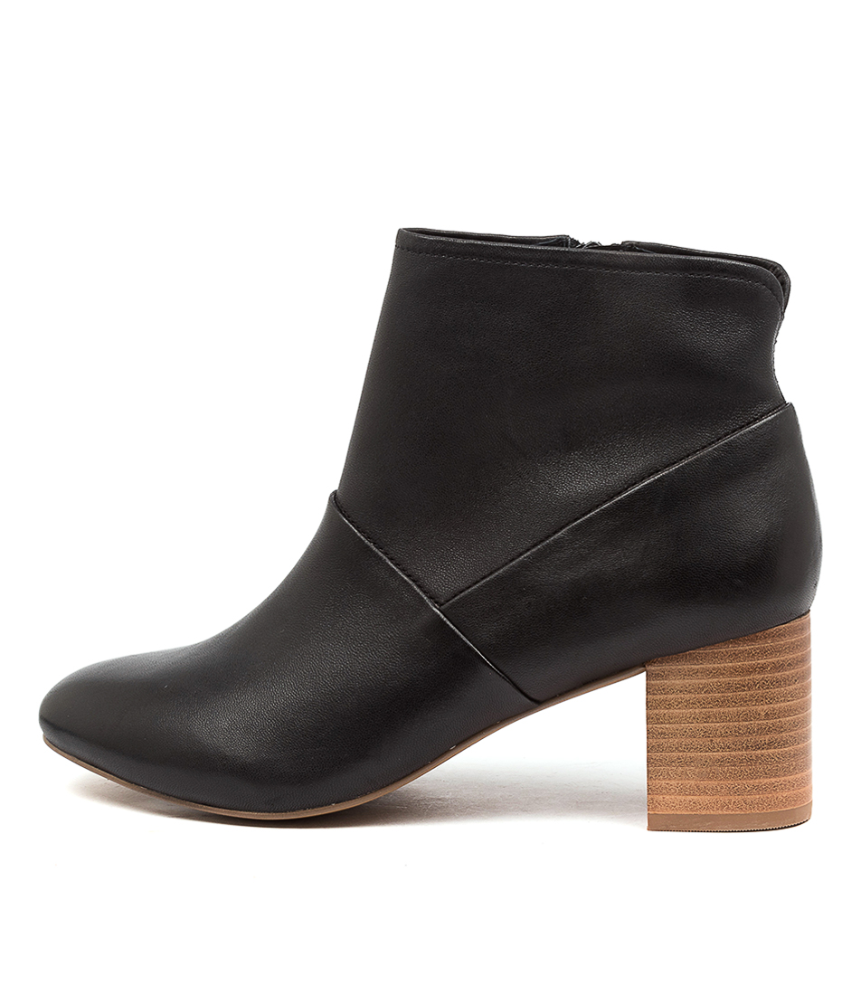 Buy Supersoft Blazing Su Black Ankle Boots online with free shipping