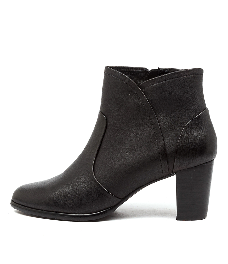 Buy Supersoft California Su Black Ankle Boots online with free shipping