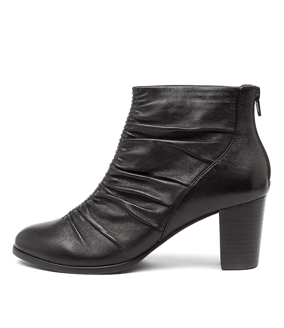Buy Supersoft Candytuft Su Black Ankle Boots online with free shipping
