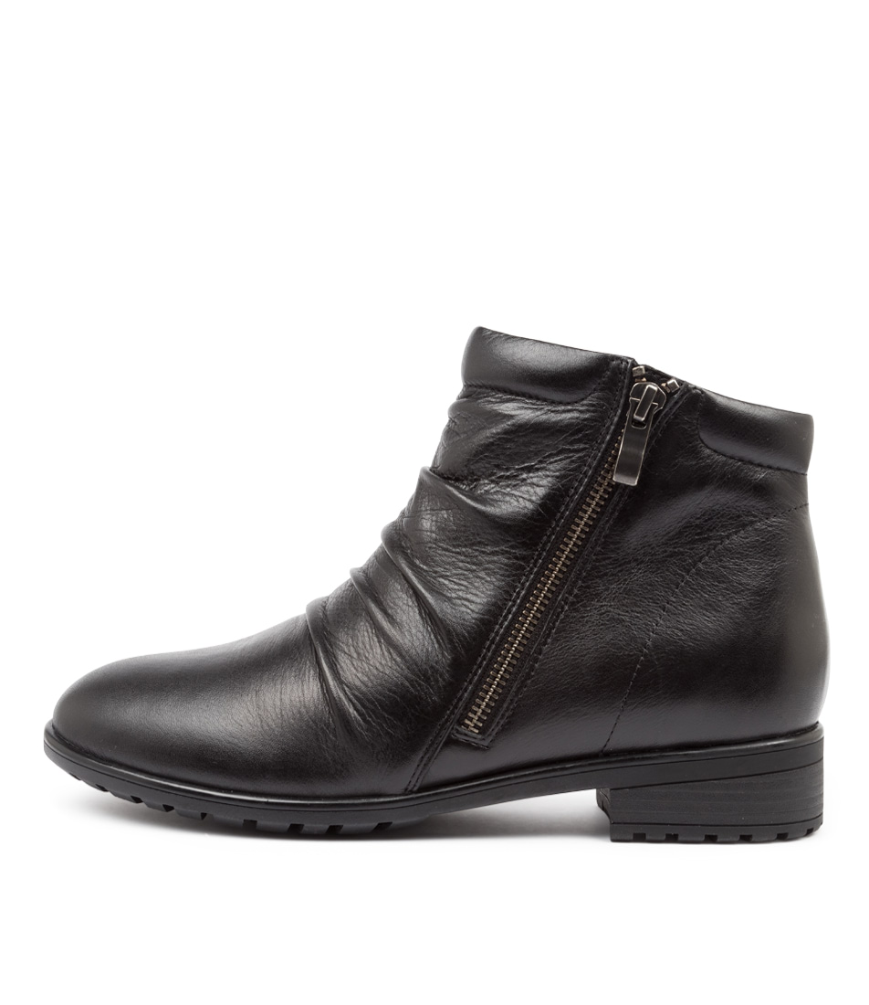 Buy Supersoft Eaglemont Su Black Ankle Boots online with free shipping