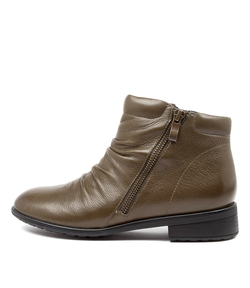 Buy Supersoft Eaglemont Su Khaki Ankle Boots online with free shipping
