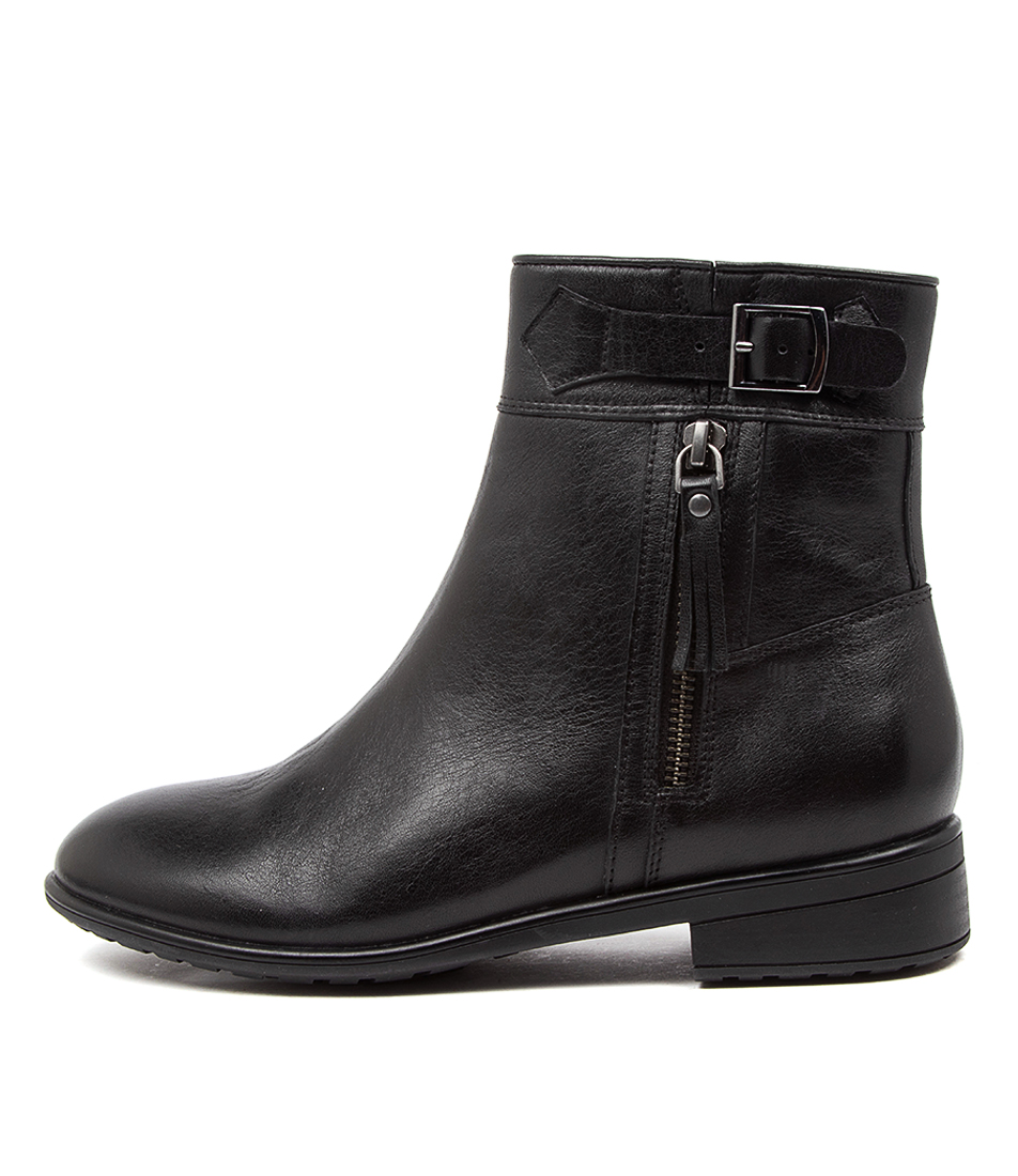 Buy Supersoft Echuca Su Black Ankle Boots online with free shipping
