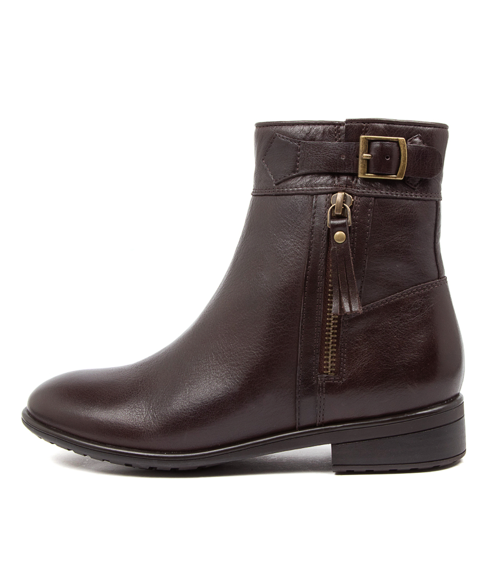 Buy Supersoft Echuca Su Brown Ankle Boots online with free shipping