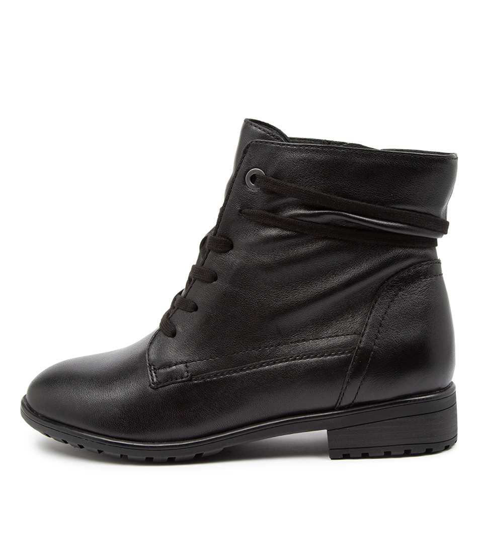 Buy Supersoft Eddington Su Black Ankle Boots online with free shipping