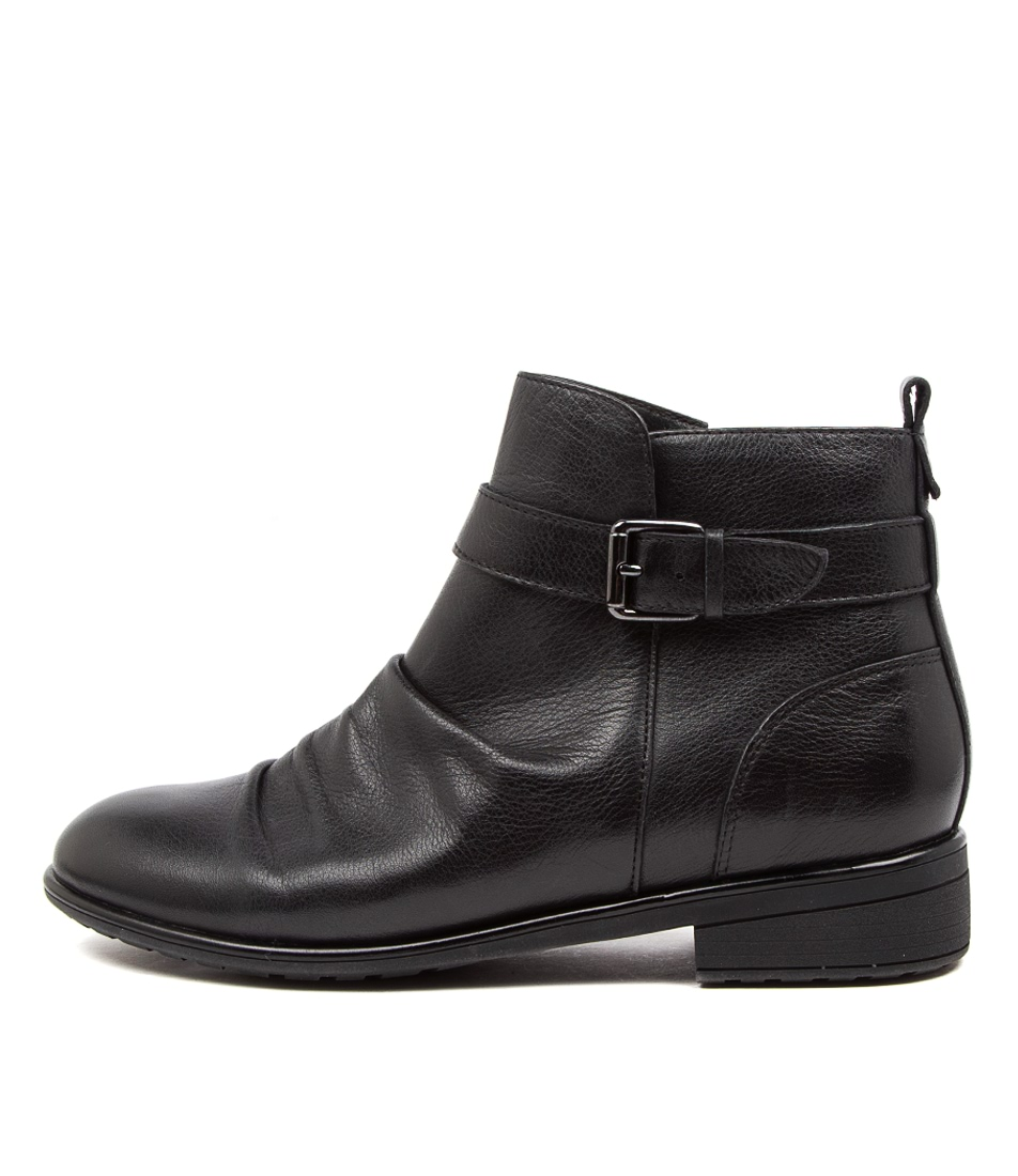 Buy Supersoft Edithvale Su Black Ankle Boots online with free shipping