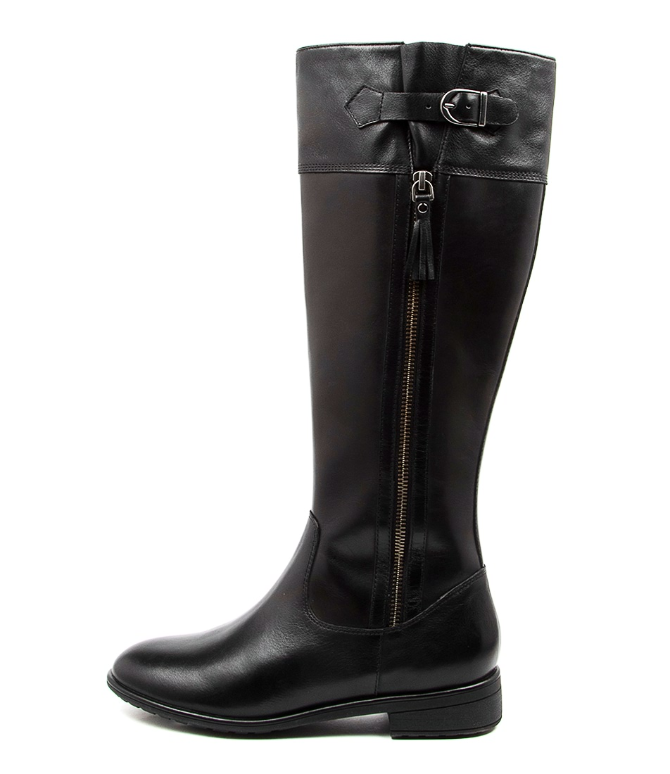Buy Supersoft Eildon Su Black Long Boots online with free shipping