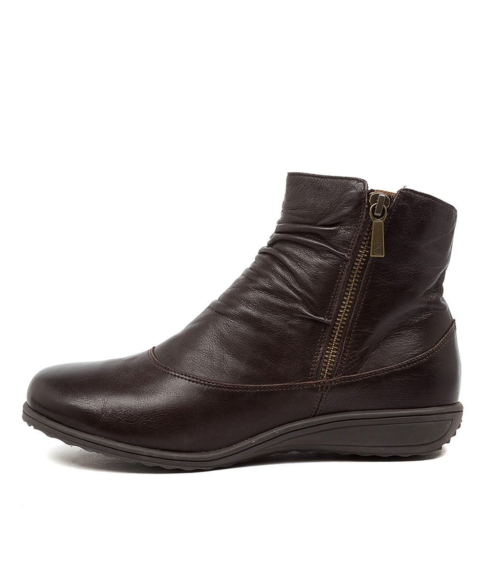 Buy Supersoft Kiesha Su Brown Ankle Boots online with free shipping