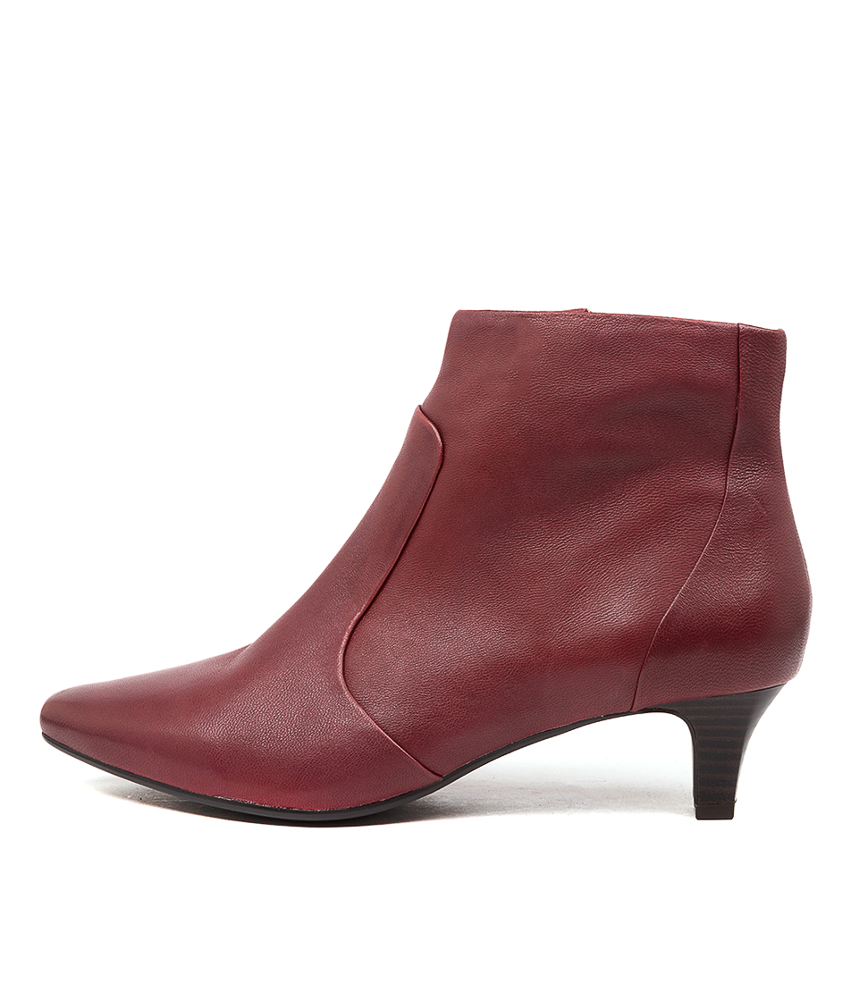 Buy Supersoft Lahoma Su Deep Crimson Dress Ankle Boots online with free shipping