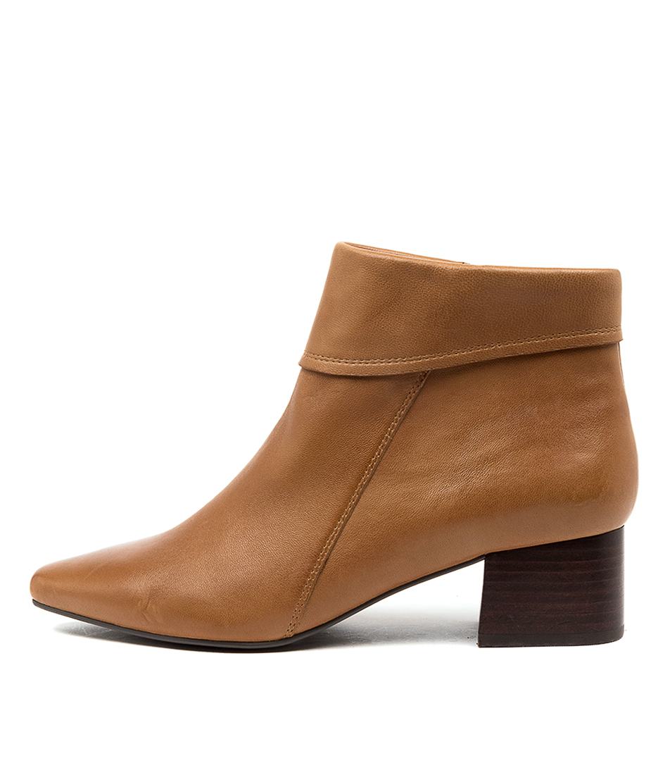 Buy Supersoft Lauretta Su Mid Tan Ankle Boots online with free shipping